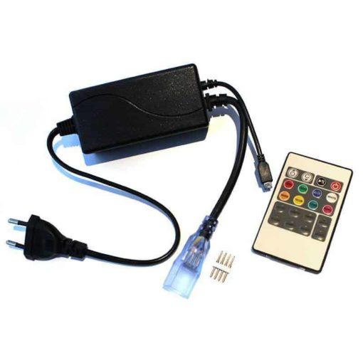 Contrôleur RGB RF pour bande led 230v RGB