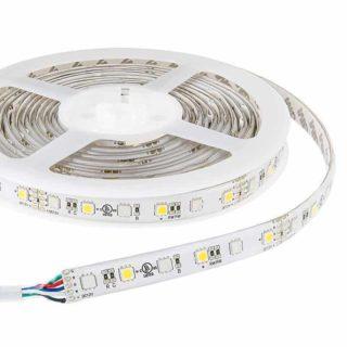 RGBW LED strip 12v 5m 300smd 5050 LEDs