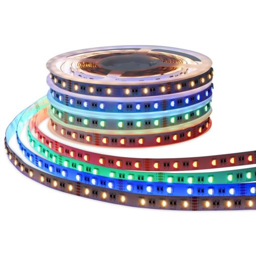 RGBW LED strip 24v 5m 300smd 5050 led's 2