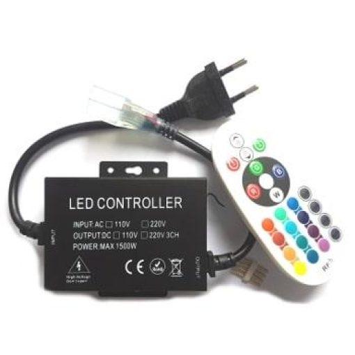 Contrôleur RGB avec télécommande pour bande led 230v RGB 1