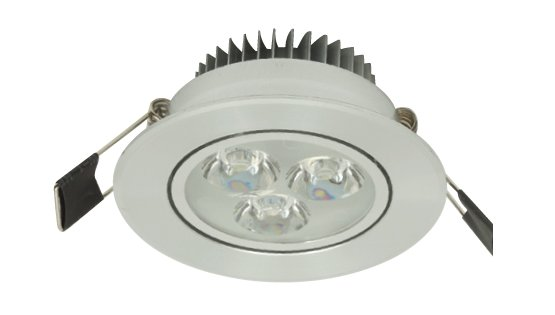 LED recessed spot - downlight 3W Warm white