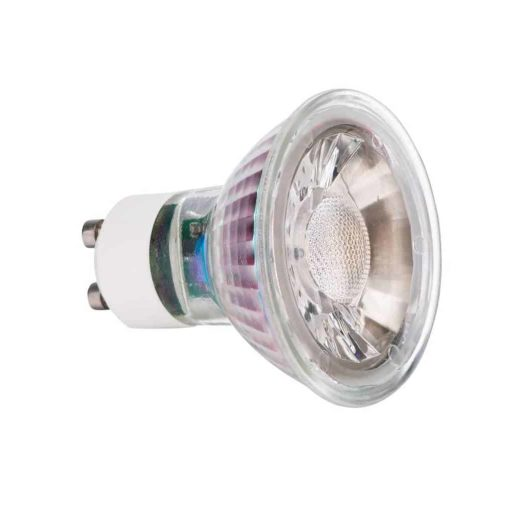 GU10 5W Glass LED spot 2700k