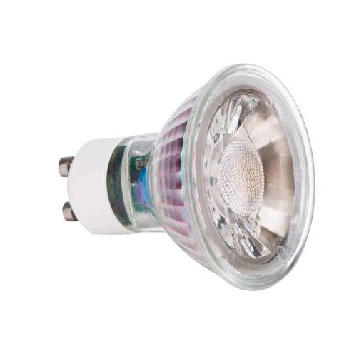 Spot LED en verre GU10 7W 2700k