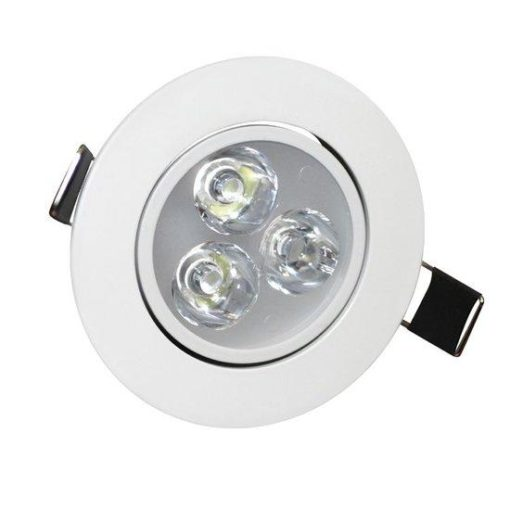 LED inbouwspot - downlight 3W Warm-wit 1