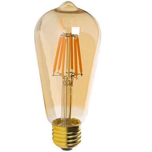 E27 LED lamp 8W-60W rustieke sfeer 2200k dimbaar