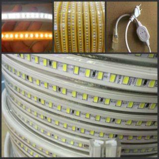 Bande LED 230V par m 5730SMD