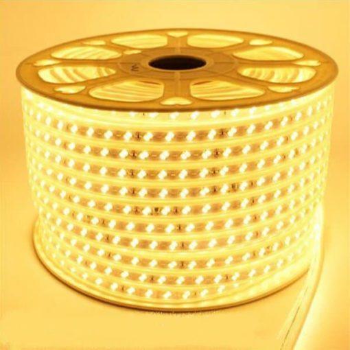 5730SMD 230v led strip warm-wit