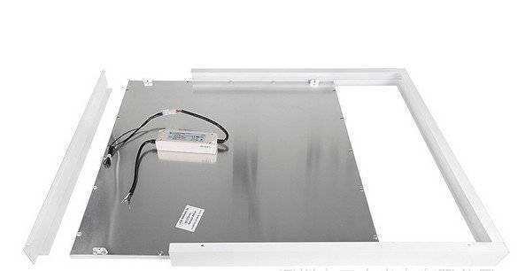Led paneel 60×60 wit opbouw frame