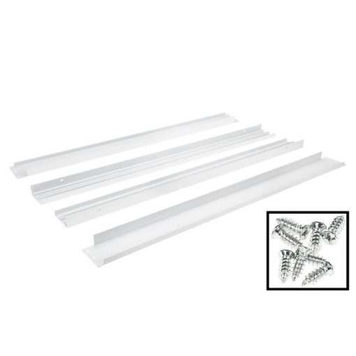 Led paneel 60x60 wit opbouw frame