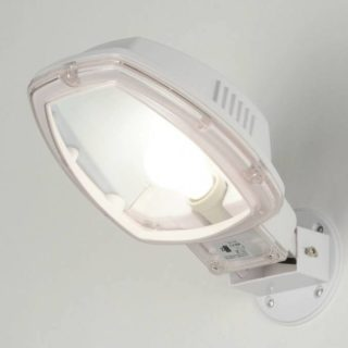 White outdoor lamp