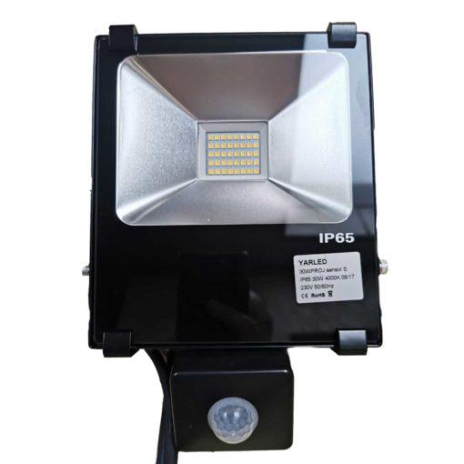 Lampe de chantier LED 30W Projecteur PRO 4000k avec capteur 1