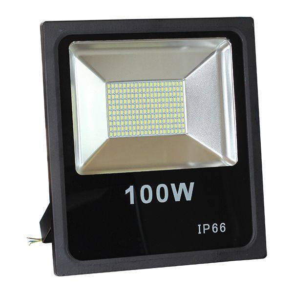 led breedstraler 100w koud wit