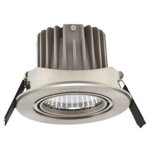 Led recessed spot 91mm 7.5W Carol - brushed steel