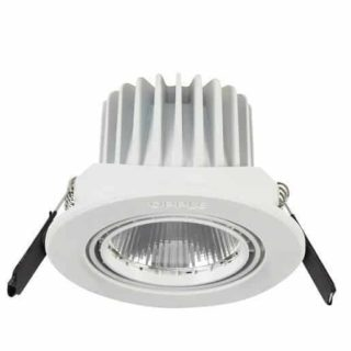Led inbouwspot 91mm 7,5W Carol - mat wit