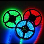 BANDE RGB À LED 12V, 300 SMD 5050 LED IP44 5m