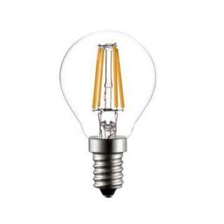 E14 LED filament ball lamp 4W dimmable 2700k P45