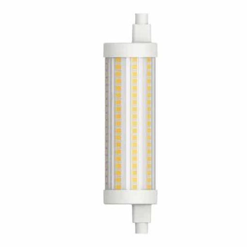 R7S LED 118mm 16w blanc chaud 360 ° 1