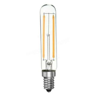 E14 LED filament de lampe à tube 2W (remplace 20w) dimmable T20