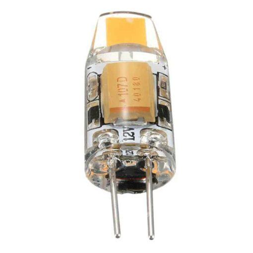 G4 (GU4) halogeen vervanger 1W LED lamp YARLED 12v AC/DC