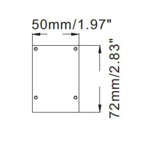 LED lichtbalk Linear 600mm Warm-wit