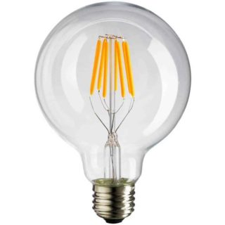 Ampoule LED opale 125mm