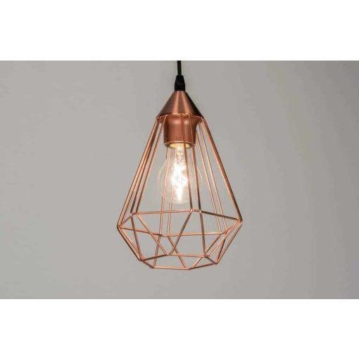 LED koper hanglamp