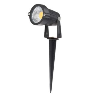 LED Garden spot 5W with skewer in Warm white IP65