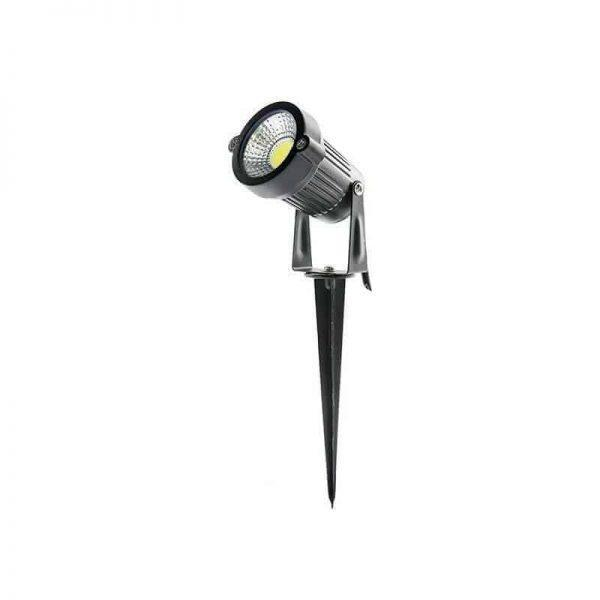 LED Tuinspot 5W met spies in Warm-wit IP65