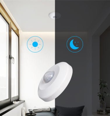 Motion sensor surface mounted 360º to 1000w LED 6