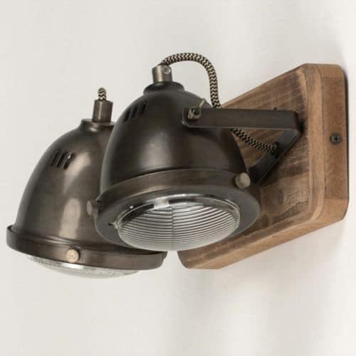 Plafondlamp in LED industrieel design 2