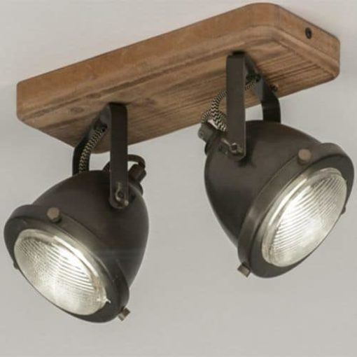 Plafonnier design LED industriel 1