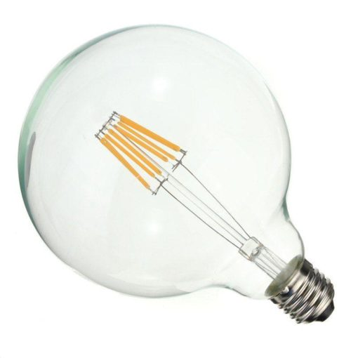 E27 LED bulb 125mm 2700k 6W filament dimmable G125 1