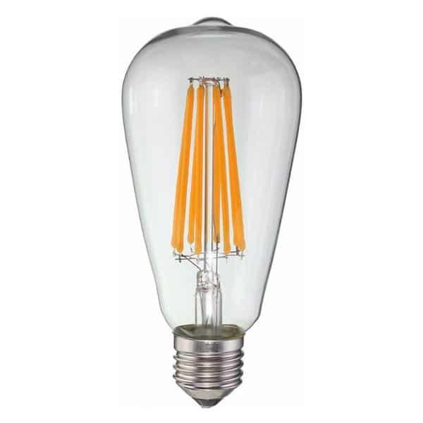 E27 LED lamp 8W-50W 2200k dimbaar ST64