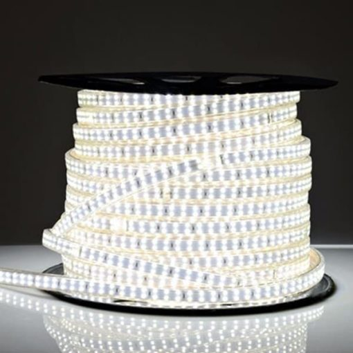 LED strip 230v 180 leds 50m daglicht