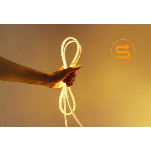 LED strip 230V met geïntegreerd circuit 2835-120SMD 50m | warm-wit 3000k 6