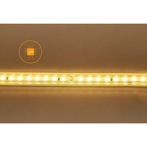 LED strip 230V met geïntegreerd circuit 2835-120SMD 50m | warm-wit 3000k 7