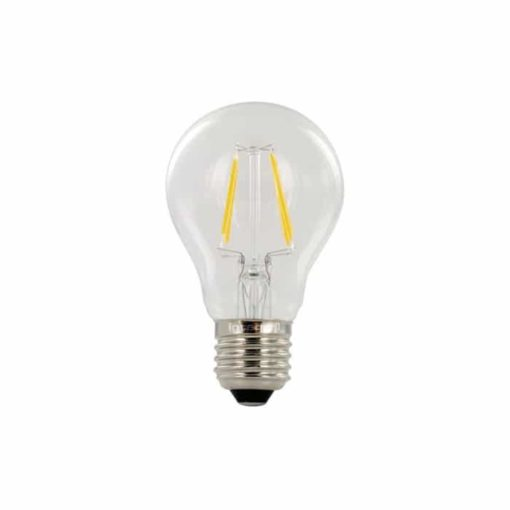E27 LED filament golf bal 2W - 25W - 2700k 1
