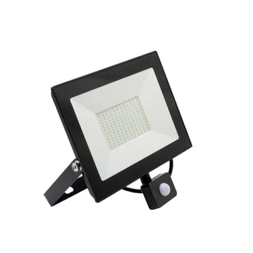 LED floodlight 100W cold white IP65 with sensor (replaces 800w) 3