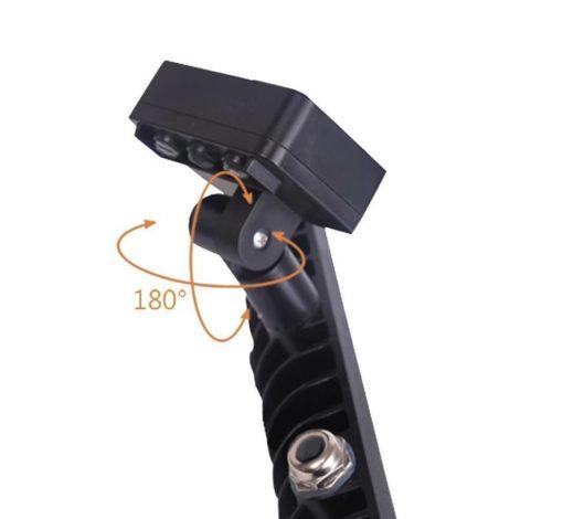 Projecteur LED 100W blanc froid IP65 avec capteur (remplace 800w) 2