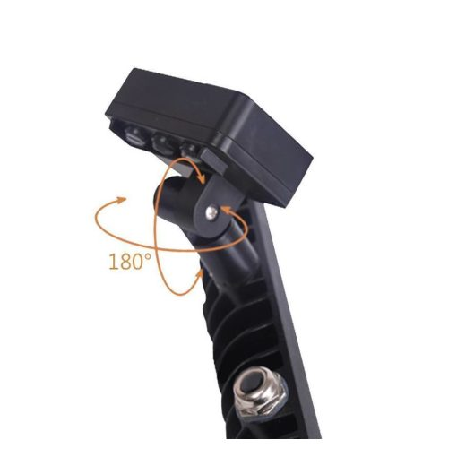LED breedstraler 100W koud-wit IP65 met sensor ( vervangt 800w) 2