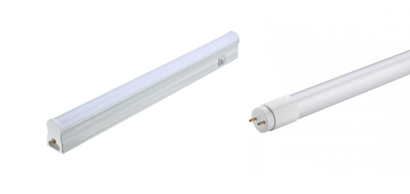 Replace fluorescent lamps with LED TL 1