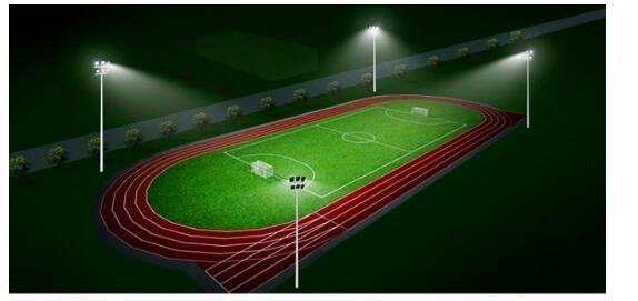Terrain de football de hauteur 25M