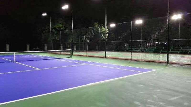 installation de terrain de basket 8M