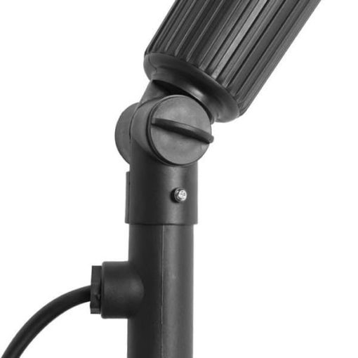 Calex Tuinspot op spies compleet met 1.5mtr kabel en Par38 LED lamp 15W E27 3000K 2