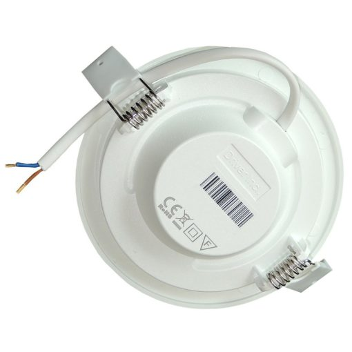 6W LED inbouwspot 230V slim 3000k | Ø115mm 3