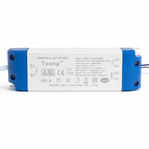 Dimmable LED panel driver