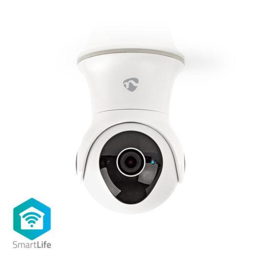 Caméra IP intelligente Wi-Fi pour l'extérieur | Panoramique / Inclinaison / Zoom | Full HD 1080p 1