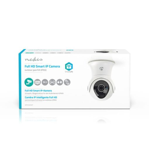 Wi-Fi smart IP camera for outdoors | Pan / Tilt / Zoom | Full HD 1080p 6
