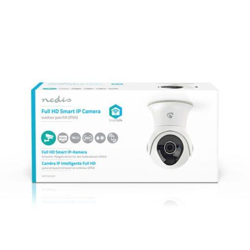 Caméra IP intelligente Wi-Fi pour l'extérieur | Panoramique / Inclinaison / Zoom | Full HD 1080p 6