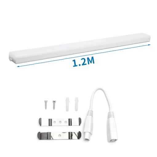 LED Batten shadow free 120cm 24W Daylight | 6500k (865) 1